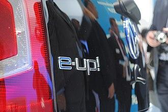 Volkswagen Up - Volkswagen e-Up! badge