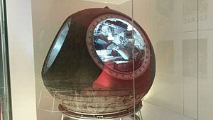 Voskhod 1 - Voskhod 1 capsule in a museum display (2016)
