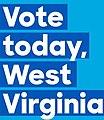 Vote today, West Virginia (early voting).jpg