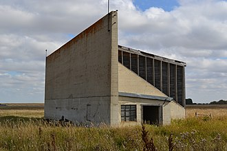 RCAF Station Vulcan - Image: Vulcan Aerodrome Pistol Range