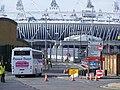 WA58 EOM, Bova Futura of Pencoed Travel, Olympic games vehicle Marshgate Lane (7747501906).jpg