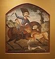 WLA brooklynmuseum Hunter on Horseback Attack by Lion 3.jpg