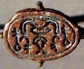 WLA brooklynmuseum Scarab with Magical Hieroglyphs ca 1630-1539 BCE 3b.jpg