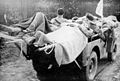 WORLD WAR II; Casualty Evaucation by jeep Wellcome L0031963.jpg
