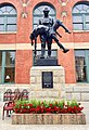 WWI 42nd Rainbow Division, 167th Alabama Infantry Regiment statue.jpg