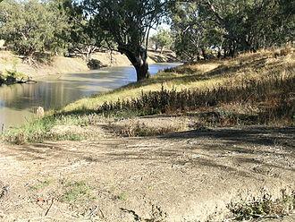 Barwon River (New South Wales) - Barwon River near Walgett.