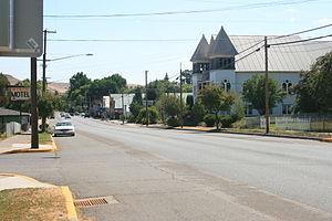 Wallowa, Oregon - Looking east in Wallowa