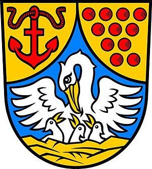 Hohenkirchen - Image: Wappen Hohenkirchen (Mecklenburg)