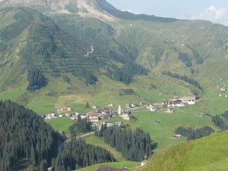 Warth, Vorarlberg Place in Vorarlberg, Austria