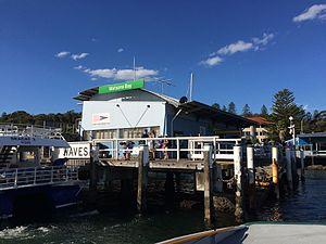 Watsons Bay ferry wharf - Watsons Bay ferry wharf in April 2017