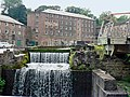 Weir at Arkwright's Mill, Cromford - geograph.org.uk - 1155444.jpg