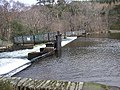 Weir at the end of Crummock Water, Brackenthwaite - geograph.org.uk - 86255.jpg