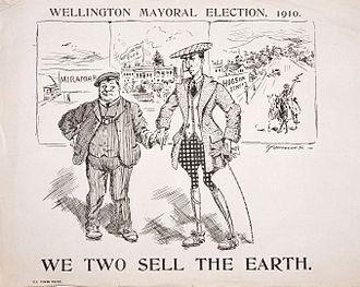 Thomas Wilford - Wellington Mayoral election, 1910