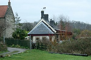 Brotherhood of Ruralists - The converted Wellow railway station in 2007