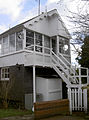 Wellow signal box - a nod to the past geograph 3864697 by Neil Owen.jpg
