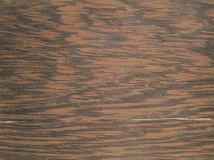 Millettia laurentii - Tangentially-sawn wood