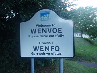 Wenvoe - Image: Wenvoe Glamorgan