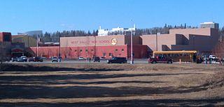 West Valley High School (Alaska) Public secondary school in Fairbanks, Alaska , USA