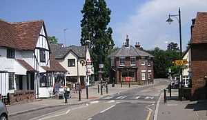 Wheathampstead - Image: Wheathampstead Town Centre
