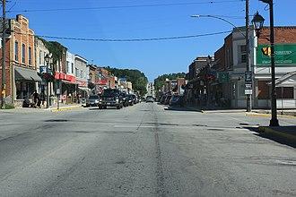 Wiarton, Ontario - Highway 6 in Wiarton