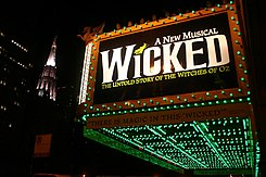Wicked, oriental theater in chicago.jpg
