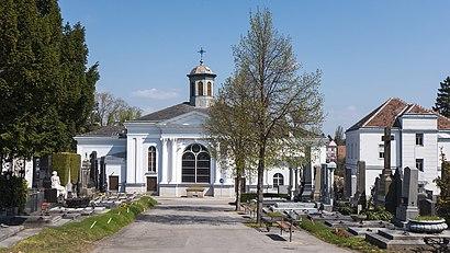 So kommt man zu dem Ottakringer Friedhof mit den Öffentlichen - Mehr zum Ort Hier