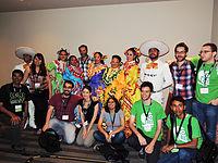 Wikimanía 2015 - Opening Ceremony - LMM - México DF 17.jpg