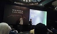 Wikimania 2018 - Day 1.Wikimania 2018. Photo 1 by Icem4k.jpg