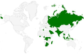 Wikipedia Zero countries as of May 2014.png