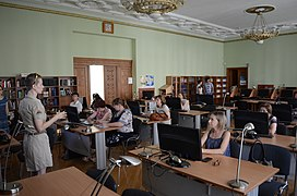 Wikitraining in National Parliamentary Library of Ukraine 07-07-2015 04.JPG