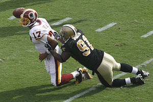 Will Smith (defensive end) - Smith sacks Jason Campbell.