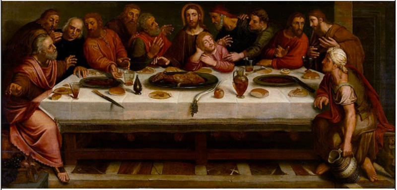 File:Willem Key, Adam van Noort - The Last Supper.tiff