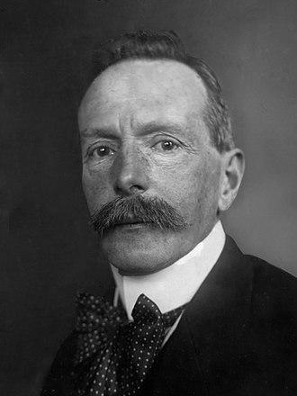 Willem Treub - M.W.F. Treub in 1917