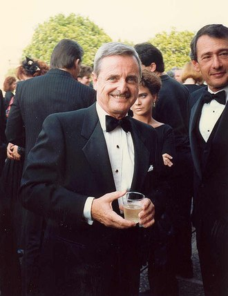 William Daniels - Daniels at the Emmy Awards September 20, 1987