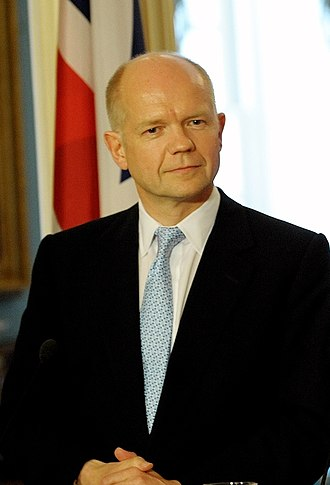 Shadow Secretary of State for Wales - Image: William Hague 2010