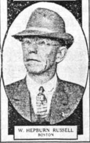 William Hepburn Russell (baseball) - William Hepburn Russell