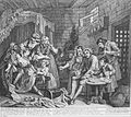 William Hogarth - A Rake's Progress, Plate 7, The Prison Scene - Google Art Project.jpg