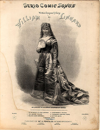 William Lingard - Image: William L Ingard as a Lady