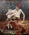 """威廉·蔡斯 - 土耳其页"""",石油在画布上绘画,1876年,辛辛那提艺术Museum.jpg"""