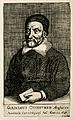 William Oughtred. Line engraving by (F. S.), 1667, after W. Wellcome V0004384.jpg