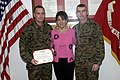 William and Sue Ellen Jurney with Joseph McMenamin USMC-060117-M-0502E-006.jpg