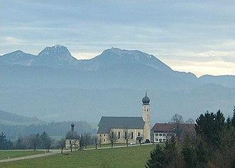 Irschenberg - Wilparting pilgrimage church