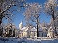 Winter tales. Sabile church - ainars brūvelis - Panoramio.jpg