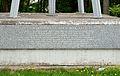 Wirtschaft sind wir alle monument, Schwechat - inscription.jpg