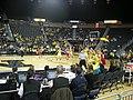 Wisconsin vs. Michigan women's basketball 2013 09 (first half action).jpg
