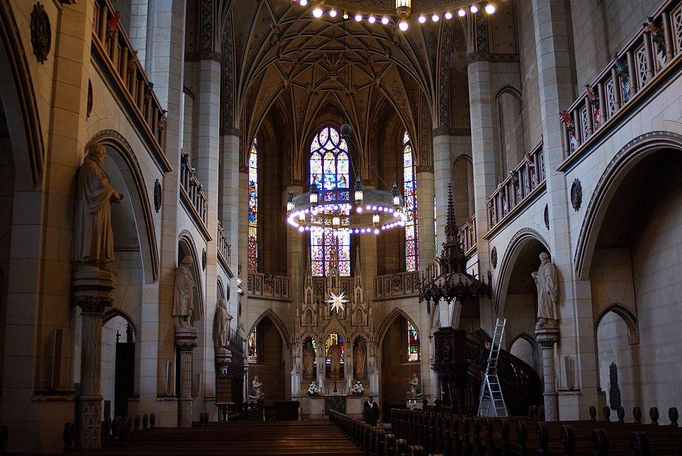 Wittenberg - Schlosskirche innen 1
