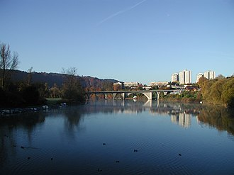 Wohlen bei Bern - Image: Wohlensee Hinterkappelen