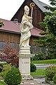 Wolfsberg Theissenegg Statue des hl Albinus 03092014 514.jpg