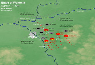 Battle of Radzymin (1944) - Battle of Radzymin