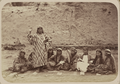 Women's Customs among the Tajiks. Social Gathering of a Group of Young Women, Two of Whom Have Musical Instruments WDL11184.png